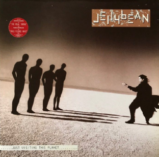 Jellybean ‎- Just Visiting This Planet (LP) (EX/VG-)